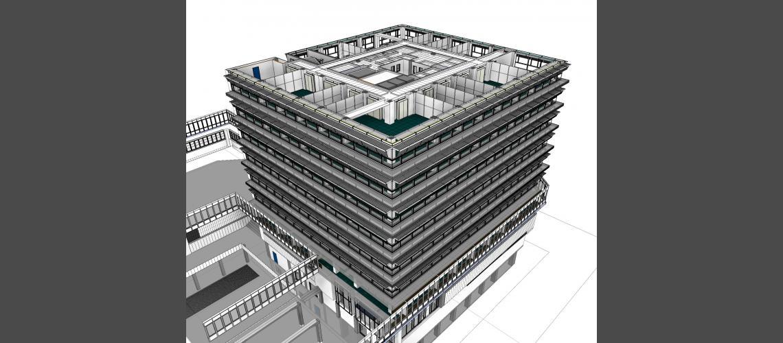 BIM shading systems model view